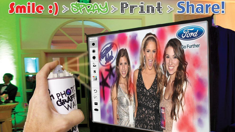 Photo Graffiti Wall | Digital Graffiti Wall | Virtual Graffiti Wall